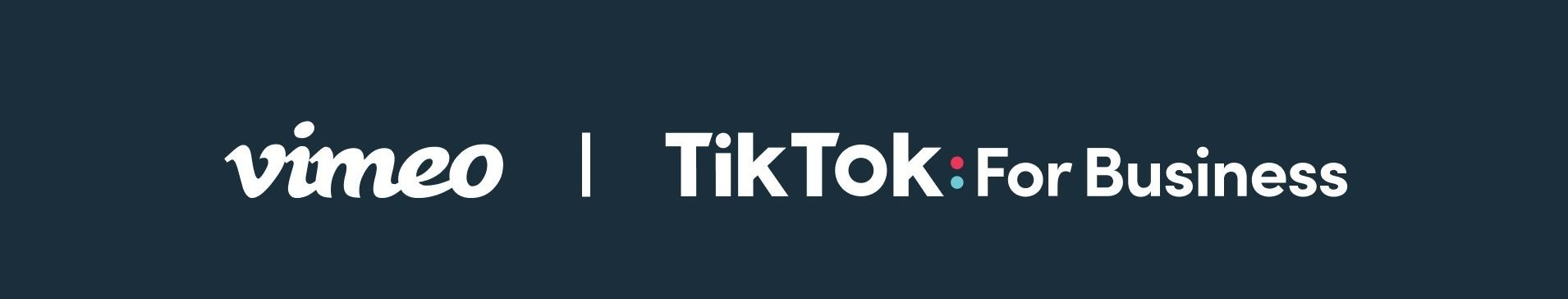 Partnership update from Tiktok; pairing up with Vimeo; another social platform